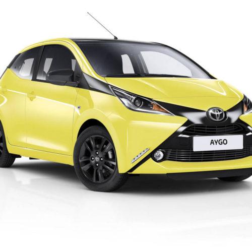 Toyota lanza su nuevo y exclusivo AYGO x-cite
