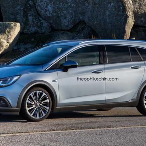 Opel Astra Country Tourer, primera recreación del compacto campero