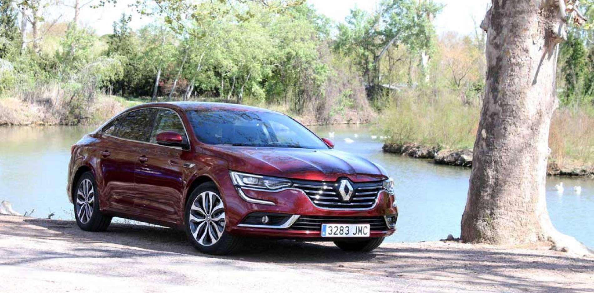 Prueba Renault Talisman Energy TCe 200 EDC, altas miras