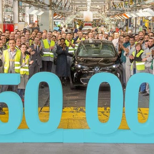 Renault vende su unidad 50.000 del ZOE