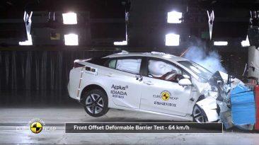 Resultados EuroNCAP Toyota Prius Suzuki Baleno