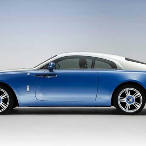 Rolls Royce Nautical Wraith, estilo marino para el yate de carretera