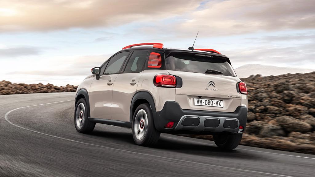 Citroën C3 Aircross trasera