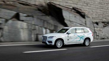 Coches autónomos Volvo en Reino Unido