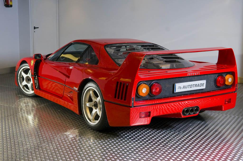 Ferrari F40 zaga