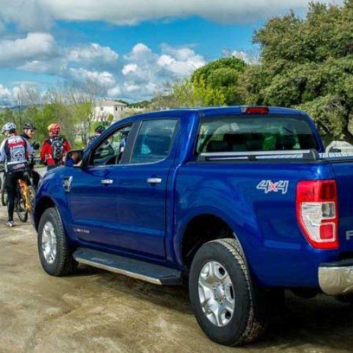 Ford Ranger, coche oficial del Imperial Bike Tour
