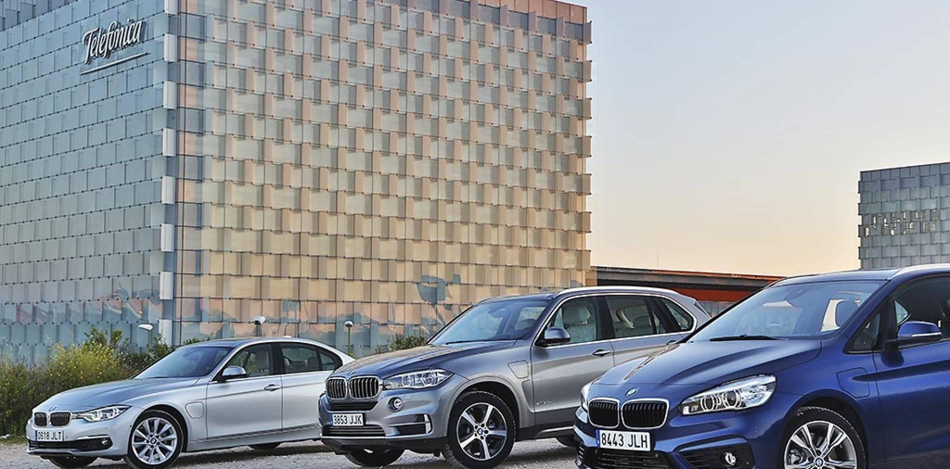 Gama BMW iPerformance: probamos los híbridos enchufables de BMW