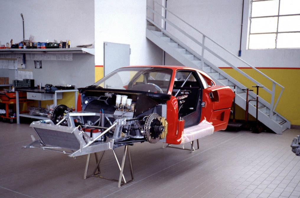 """Ferrari F40: """"El mejor automóvil del mundo"""""""