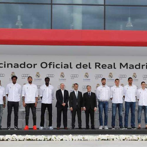 Los Audi de los jugadores de baloncesto del Real Madrid
