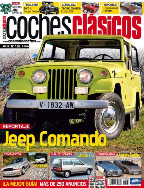 Revista COCHES CLÁSICOS número 136