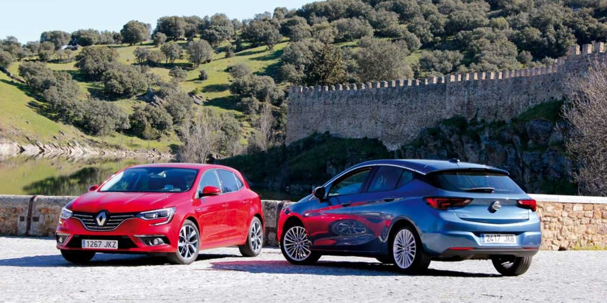 Comparativa Renault Megane 2016 Vs Opel Astra 2016