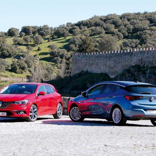 Comparativa Renault Mégane 2016 dCi 110 CV vs. Opel Astra 2016 TCDI 110 CV