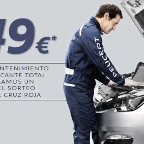 Revisión oficial de Peugeot por 149 €