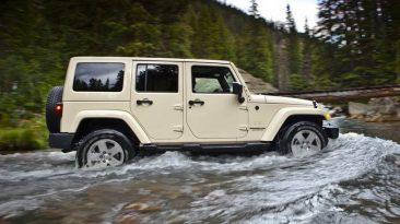 Jeep Wrangler airbags