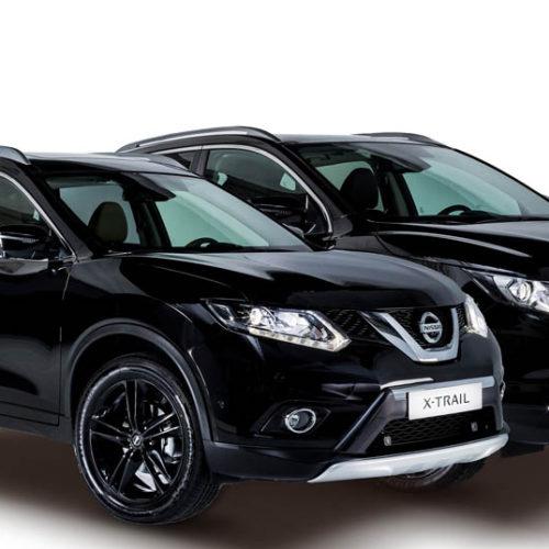 Nissan Qashqai y X-Trail Black Edition, más equipamiento y toques oscuros