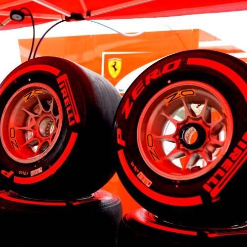 Pirelli comienza las pruebas de los neumáticos de 2017