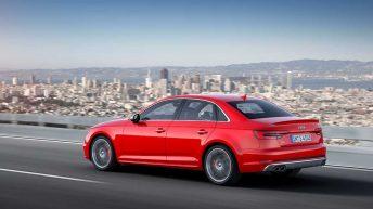 Trasera Audi S4 2016 dinámica