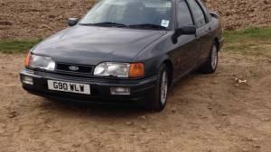 A la venta un Ford Sierra RS Cosworth visto en Top Gear