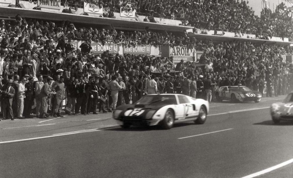 Historia Ford GT40 Le Mans 1964