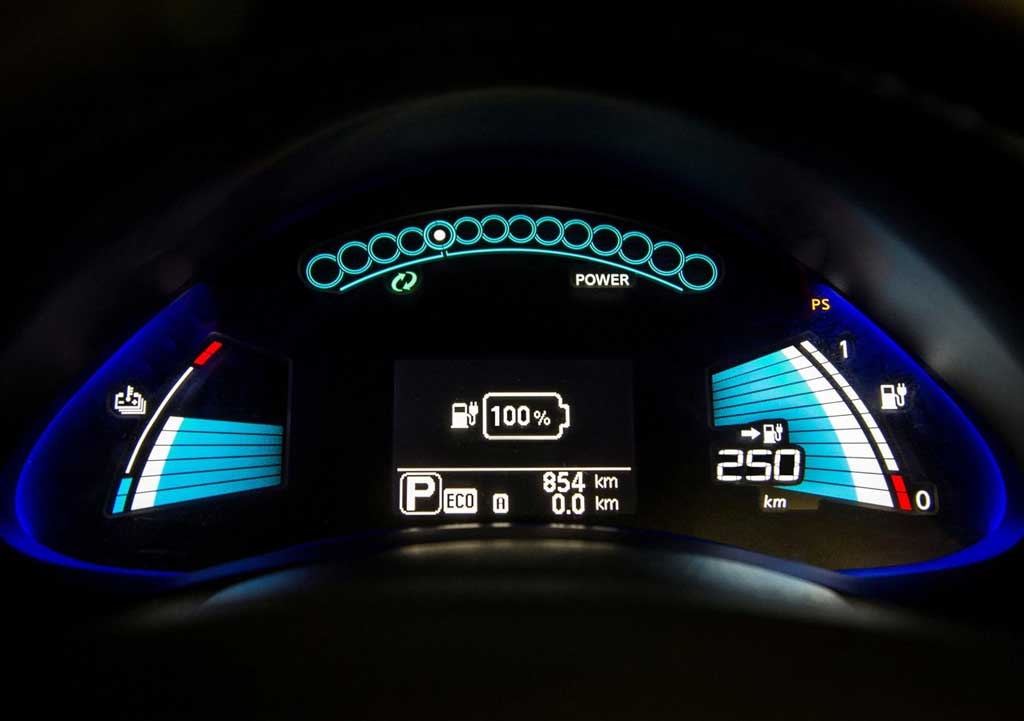 Instrumentación Nissan LEAF