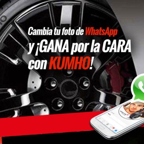 La curiosa campaña de Kumho a través de Whatsapp