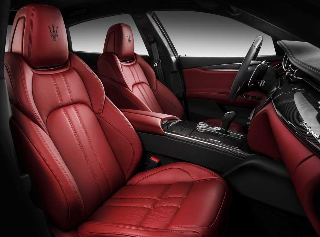Asientos Maserati Quattroporte GTS GranSport 2016