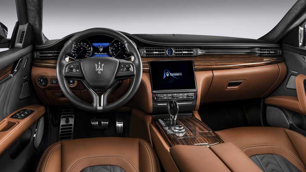 Interior Maserati Quattroporte 2016