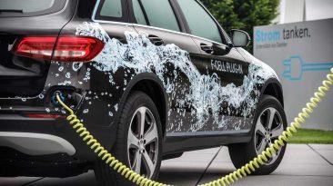 Mercedes-Benz GLC F-CELL Plug-in 2017