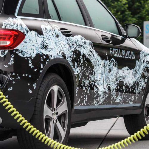 Mercedes-Benz GLC F-CELL Plug-in 2017, un prototipo referencia