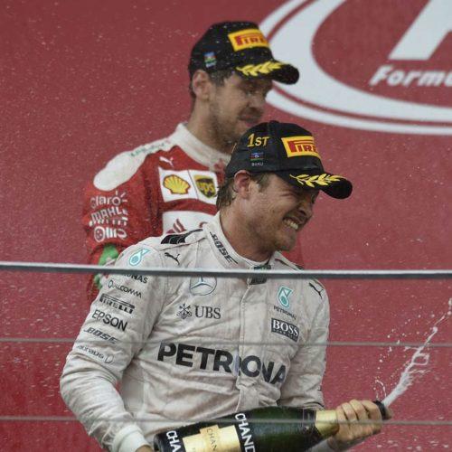 Nico Rosberg se lleva la primera victoria en Bakú