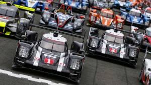 Audi lidera los test previos a Le Mans