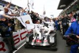Campeones 24 Horas de Le Mans 2016 Porsche Dumas Lieb Jani