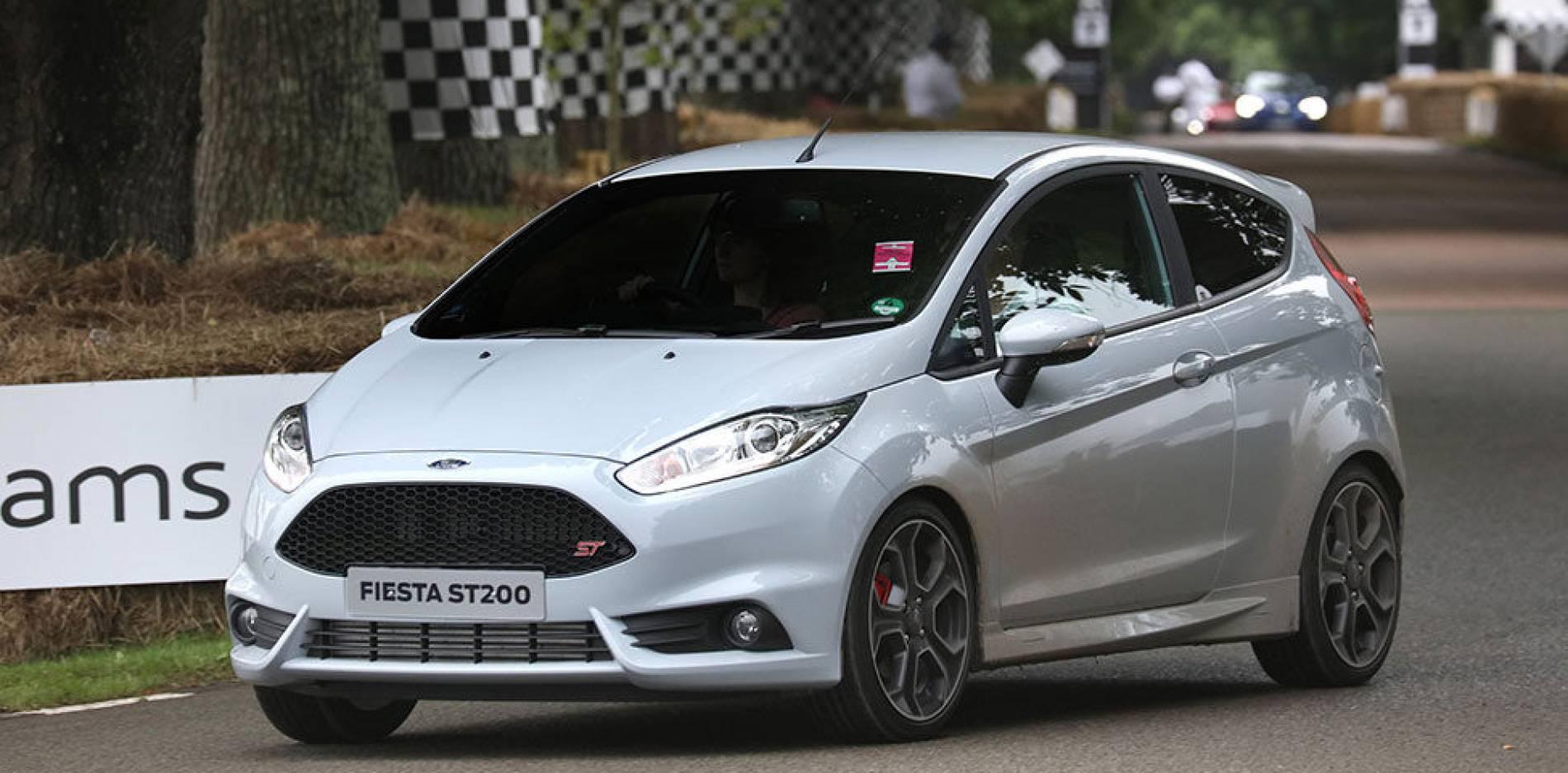Más potente que nunca, prueba Ford Fiesta ST200