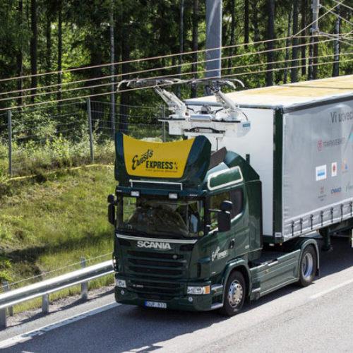 "Suecia inaugura su primera ""carretera eléctrica"""