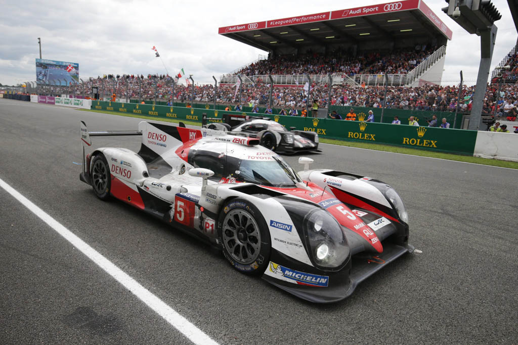 Toyota TS050 Hybrid 24 Horas de Le Mans 2016