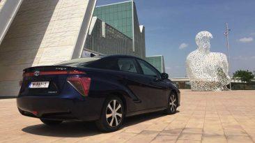 Toyota Mirai 2016 Congreso Mundial del Hidrógeno