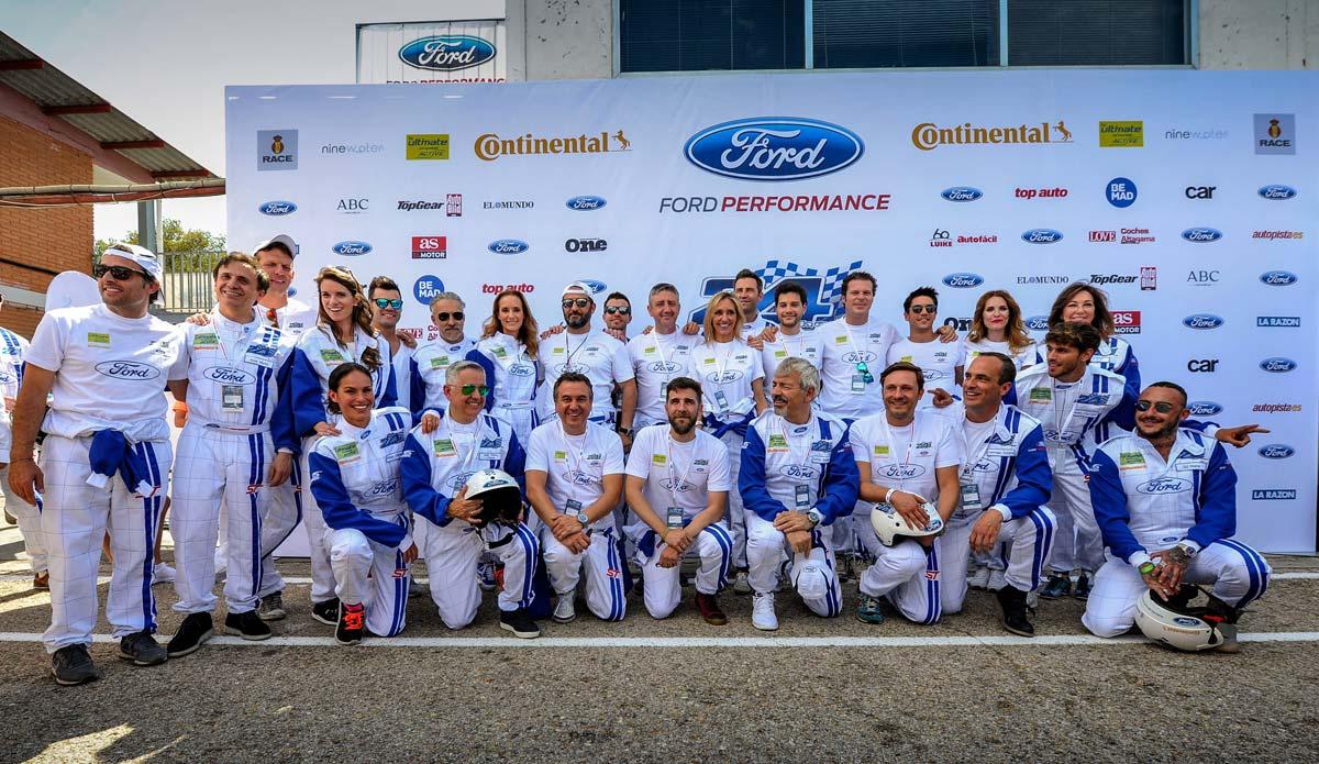 Victoria 24 horas Ford de Altagama/Coches/Love con AFEM Celebrities que participaron en la prueba