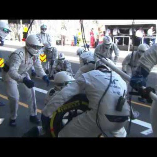 El pitstop más rápido de la historia de la F1