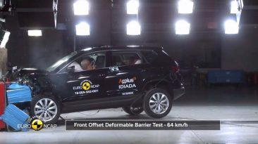 Resultados EuroNCAP SEAT Ateca, Volkswagen Tiguan, Alfa Romeo Giulia