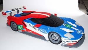 Ford mostrará estos GT y GT40 de LEGO en Le Mans