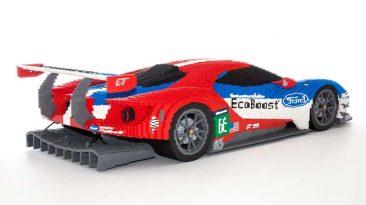 Ford GT Le Mans LEGO trasera