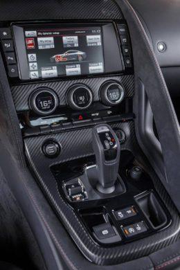 Consola Jaguar F-Type SVR