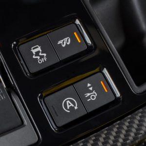 Jaguar F-Type SVR botones