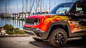 Jeep Renegade Hell's Revenge, al infierno con Harley-Davidson