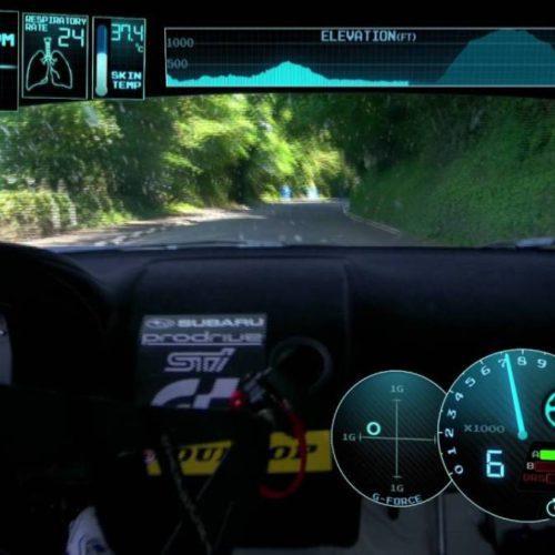 La vuelta récord de Subaru en Isla de Man, onboard