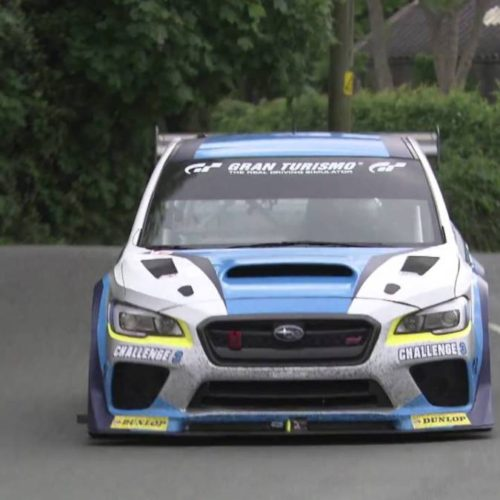 Primeras imágenes de la vuelta récord del Subaru WRX STi en Isla de Man