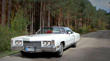 Prueba Cadillac Eldorado Convertible 1971