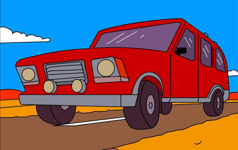 Canyonero - Los coches más deseados de las series de animación