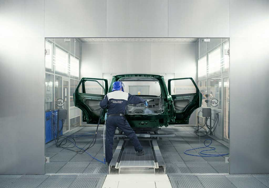 Fábrica SVO Jaguar Land Rover