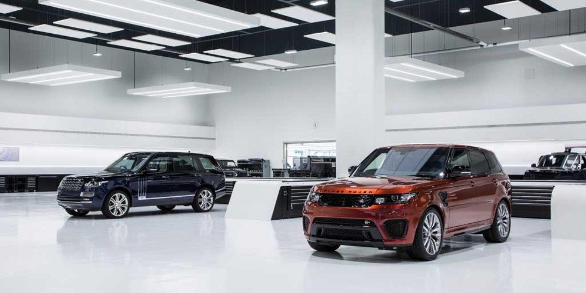 Nuevo centro técnico SVO, la cuna de los Jaguar y Land Rover más exclusivos